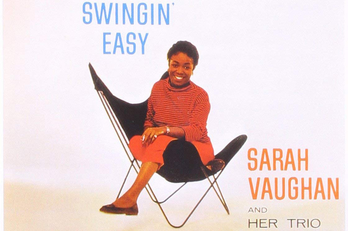 sarah vaugh on an album cover