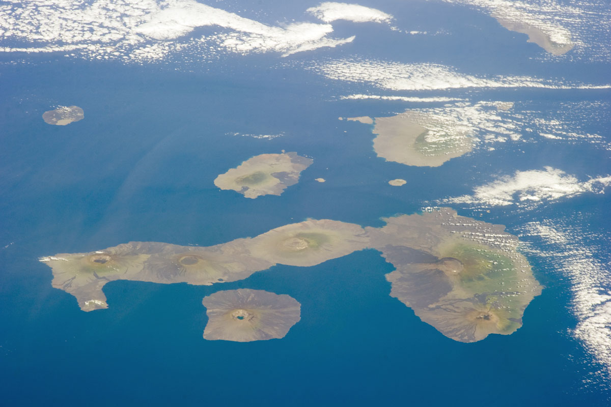 Photo of the Galapagos Islands.