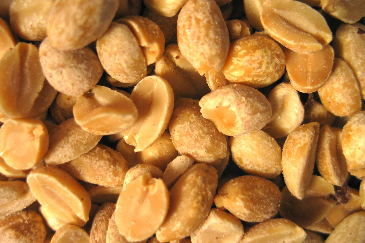 Photo of peanuts.