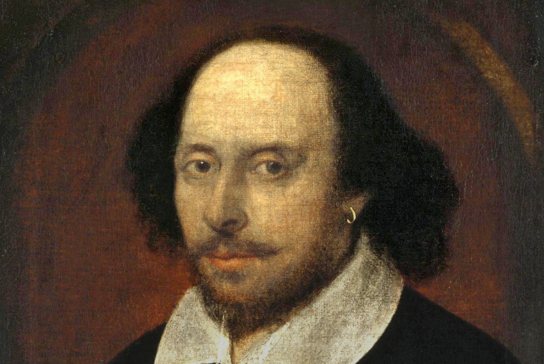 Painting of Shakespeare.
