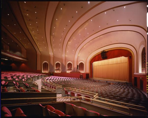 Inside the IU Auditorium
