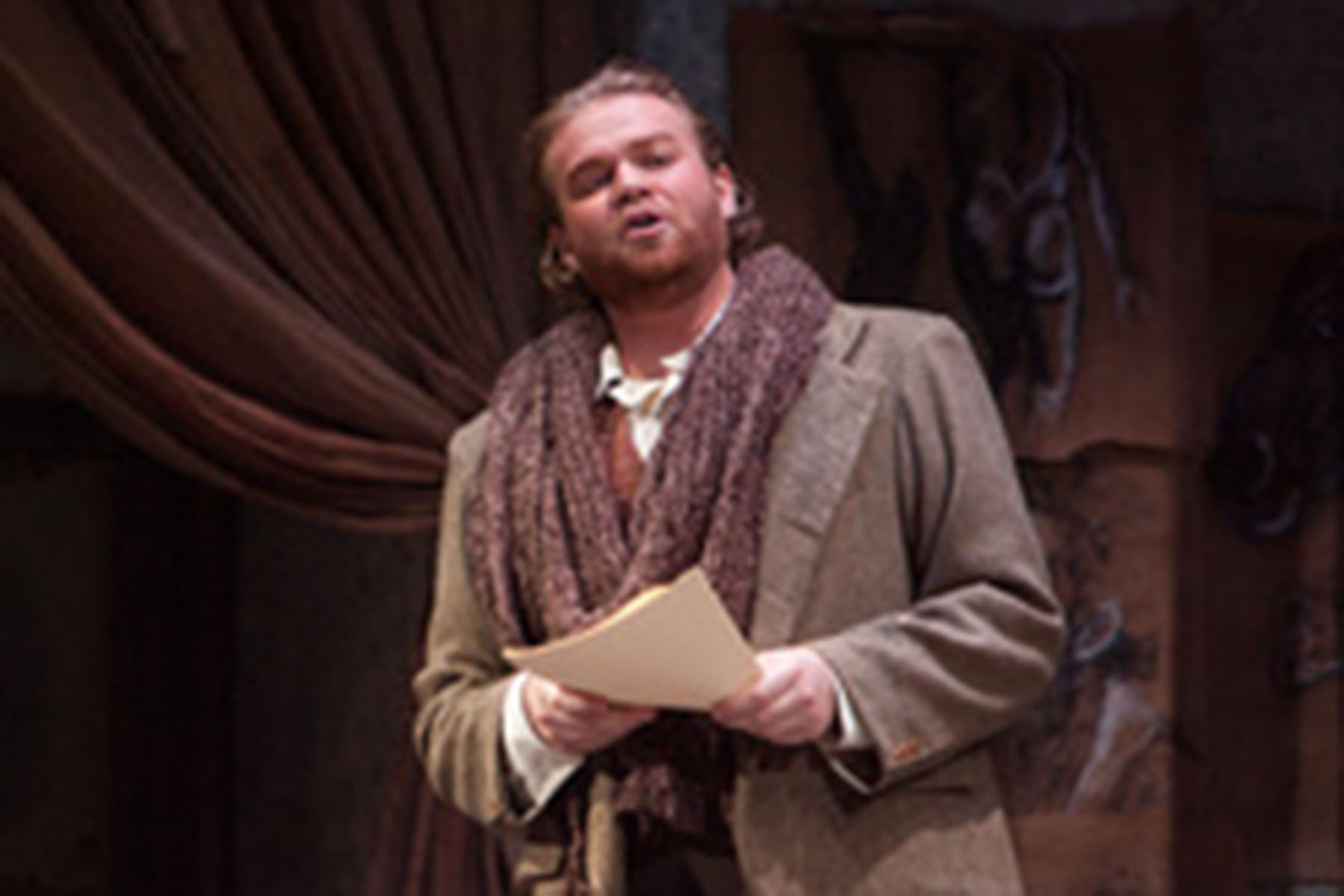 Andrew Maughan as Rodolfo at IU