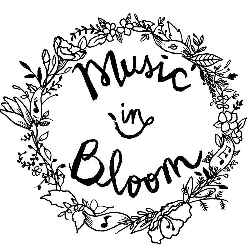 Music in Bloom Logo