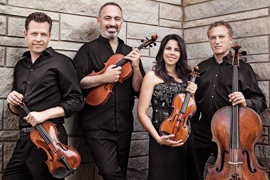 The Pacifica String Quartet