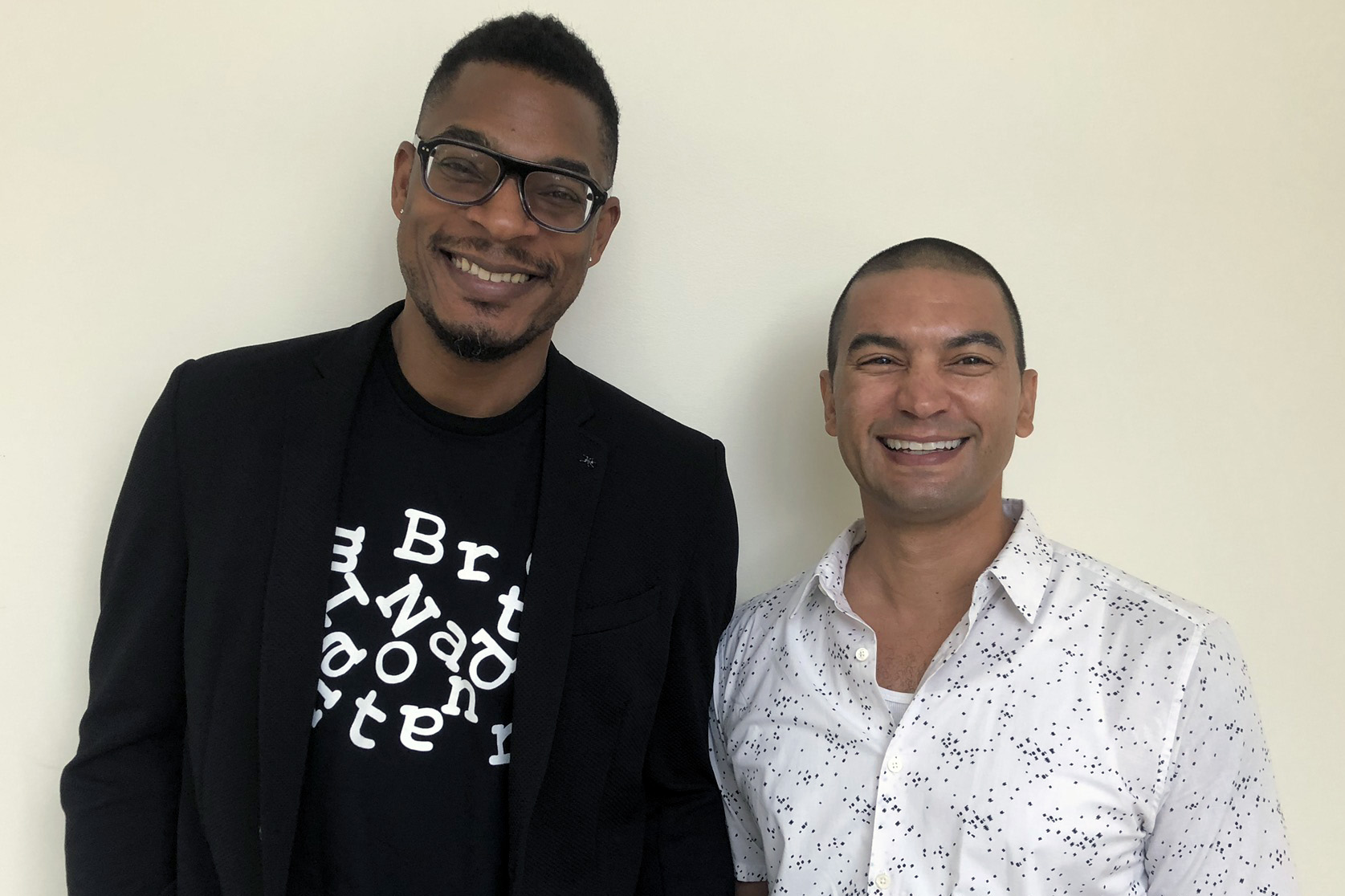 Poets Terrance Hayes and Adrian Matejka