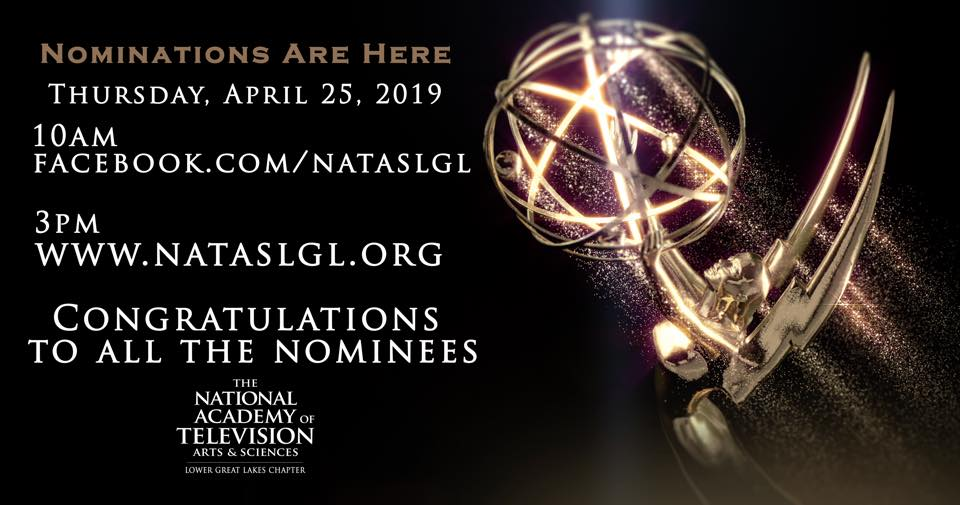 NATAS Lower Great Lakes Emmy Award Nominations