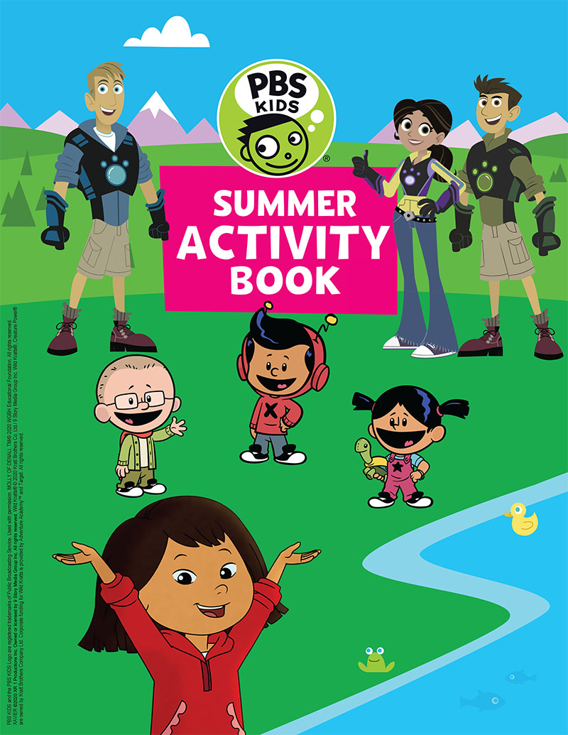 PBS Kids Summer Activity Book