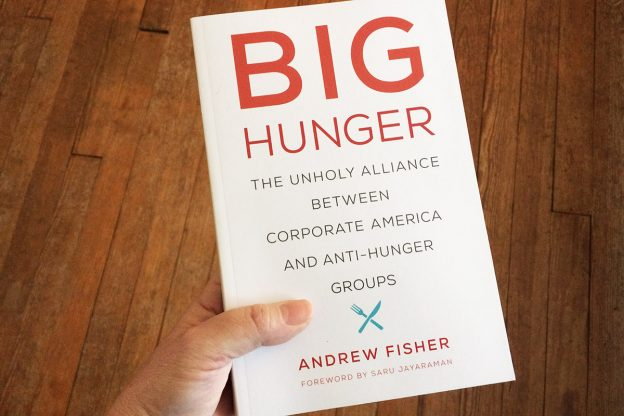 the book cover for Big Hunger