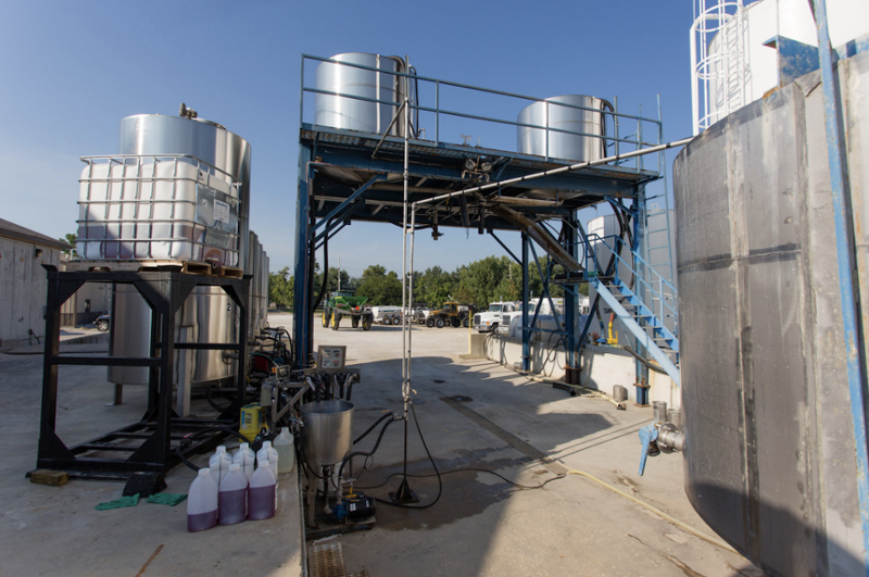 fertilizer production facility