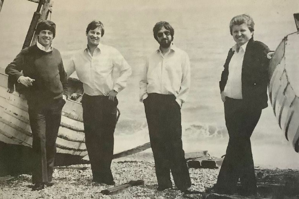 The HIlliard Ensemble in 1980