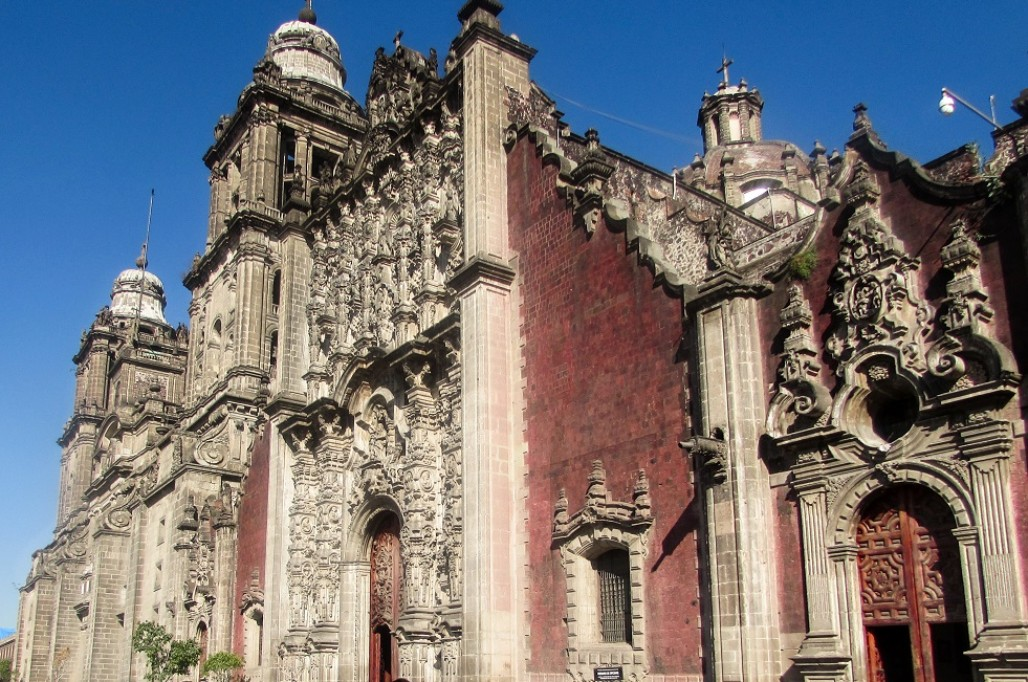 Cathedral Christobel in Mexico City