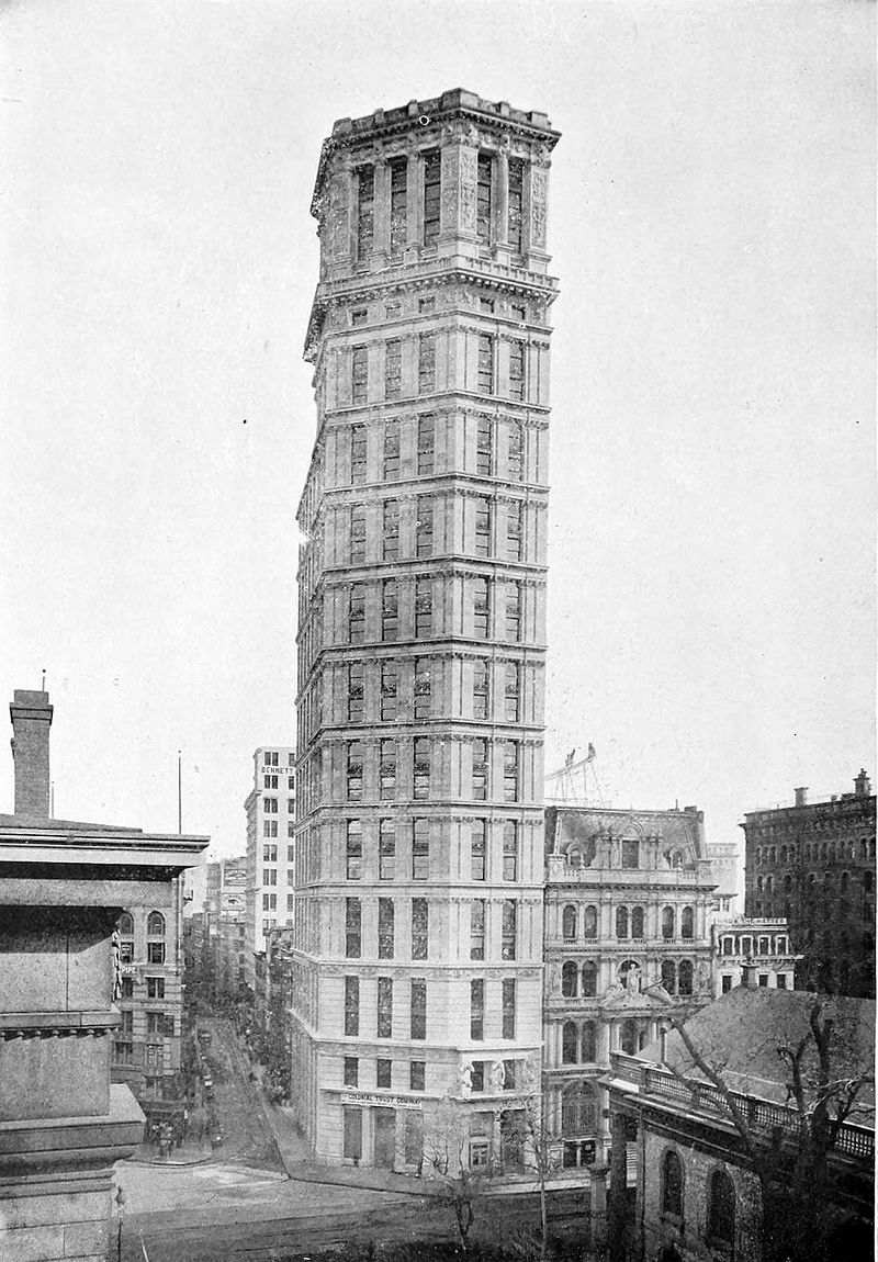 St Paul Building in NYC 1897