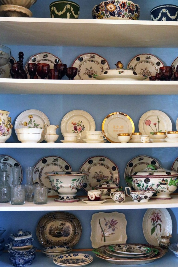 Wylie House plate shelves