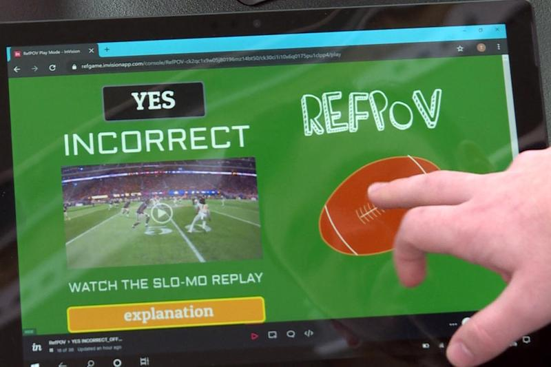 referee test