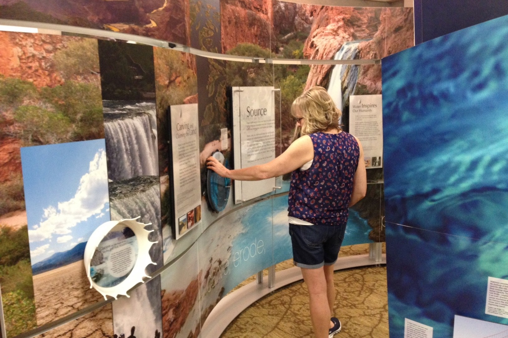 Smithsonian's Water/Ways exhibition