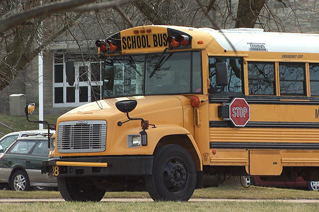 An mccsc school bus