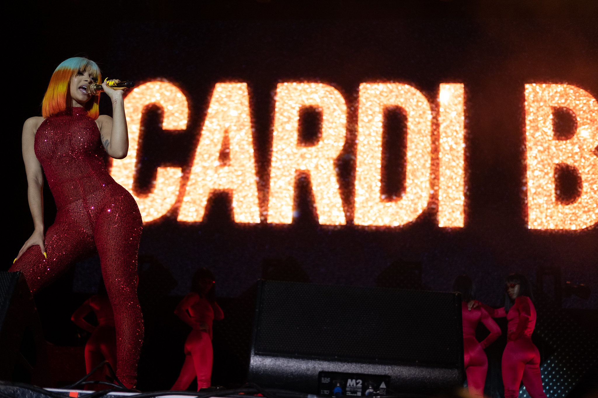 Cardi B on stage