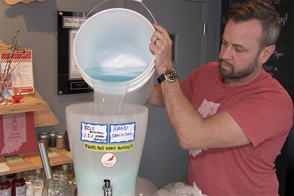 Local Distillery Making Hand Sanitizer Amid National Shortage ...