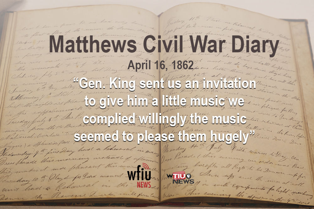 April 16 quote from civil war diary