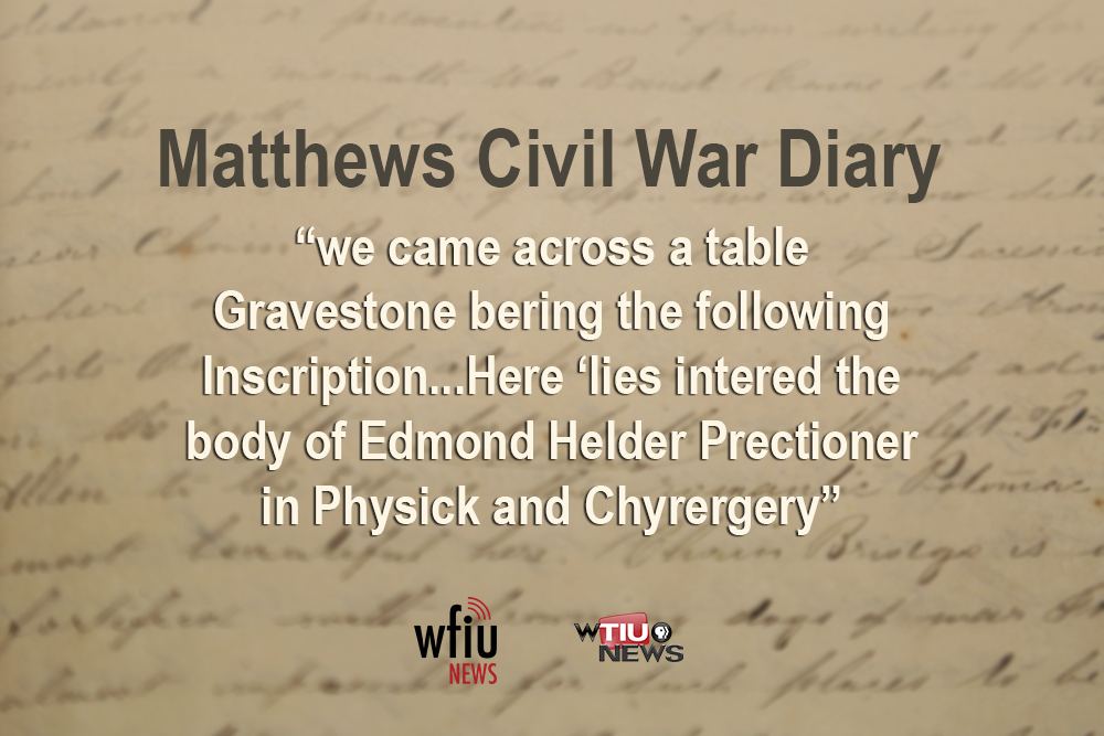 April 30 quote from civil war diary