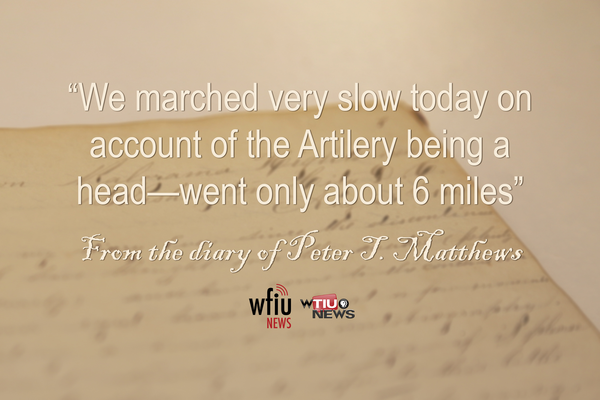 April 6 quote from civil war diary