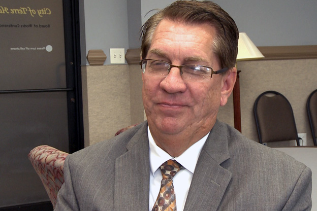 Terre Haute Mayor Duke Bennett