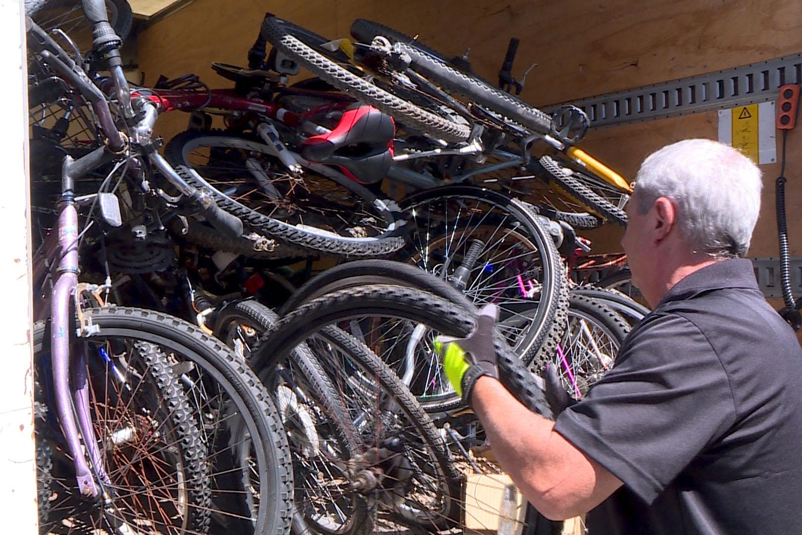 IU Surplus Donates Bikes, Parts To Bloomington Community