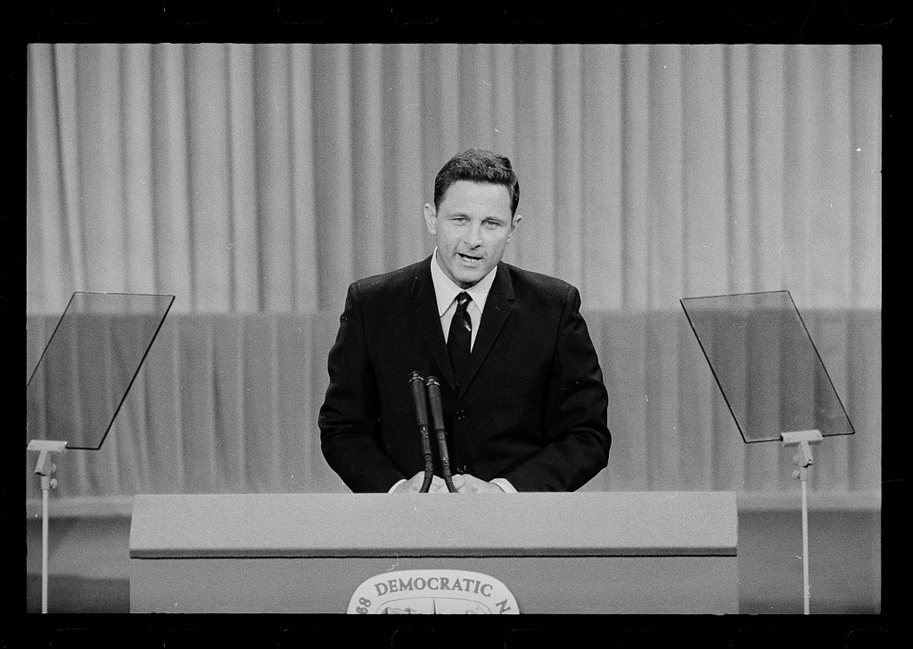 Birch Bayh Chicago 1968