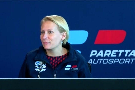 Beth Paretta will be the owner and manager of the new team Paretta Autosport that will work to bring women into all roles of the team.