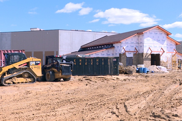 Brown County Music Center construction