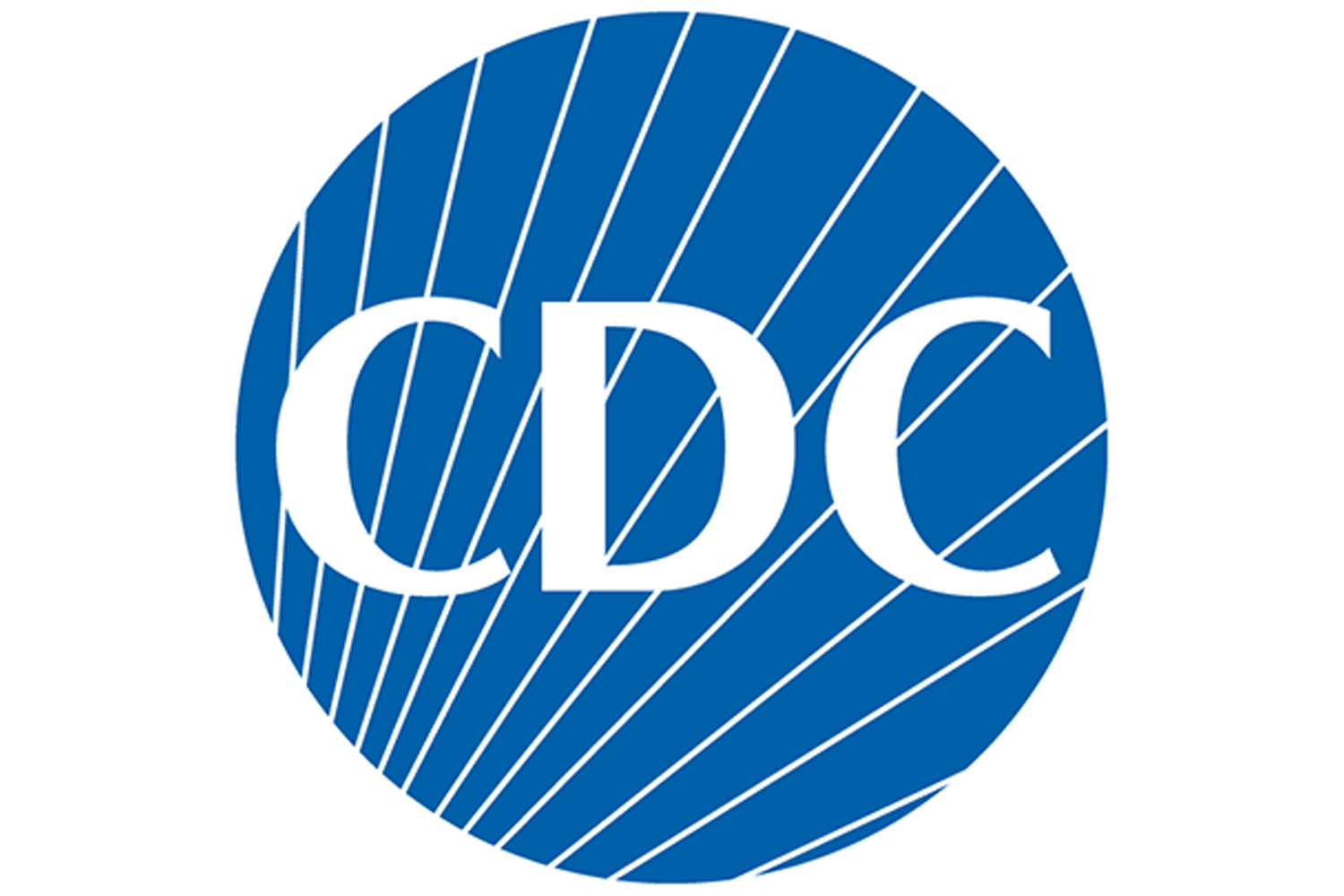 The logo for the Centers for Disease Control and Prevention (CDC).