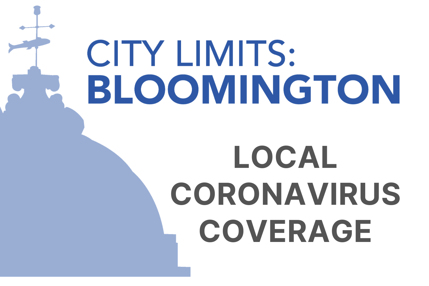 A City Limits coronavirus coverage graphic