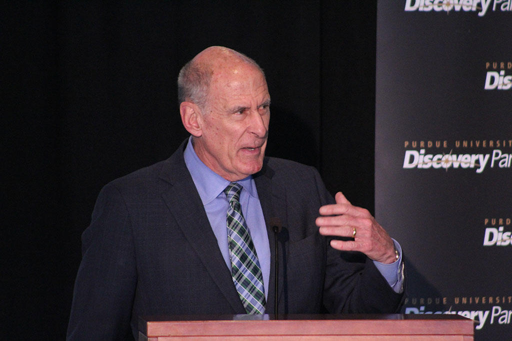 Dan Coats at Purdue