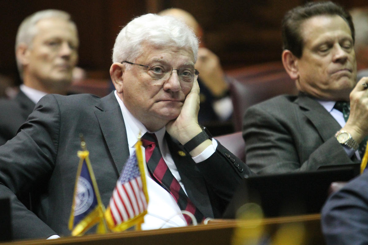 Rep. Ed Soliday at the statehouse