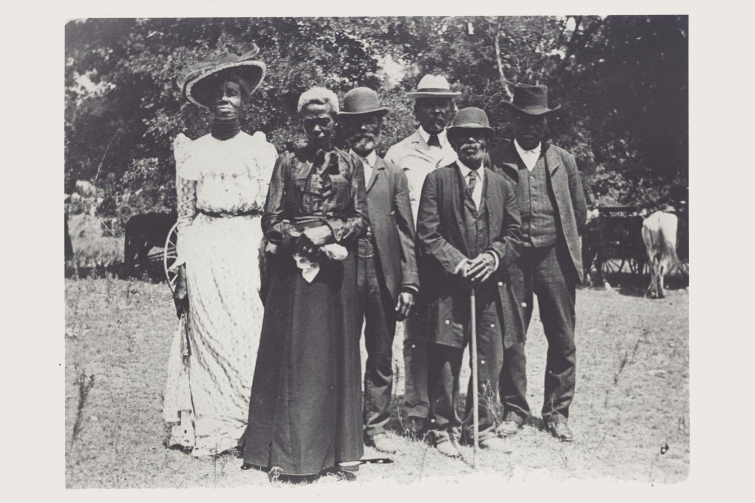 Juneteenth Emancipation Day Celebration from June 19, 1900.