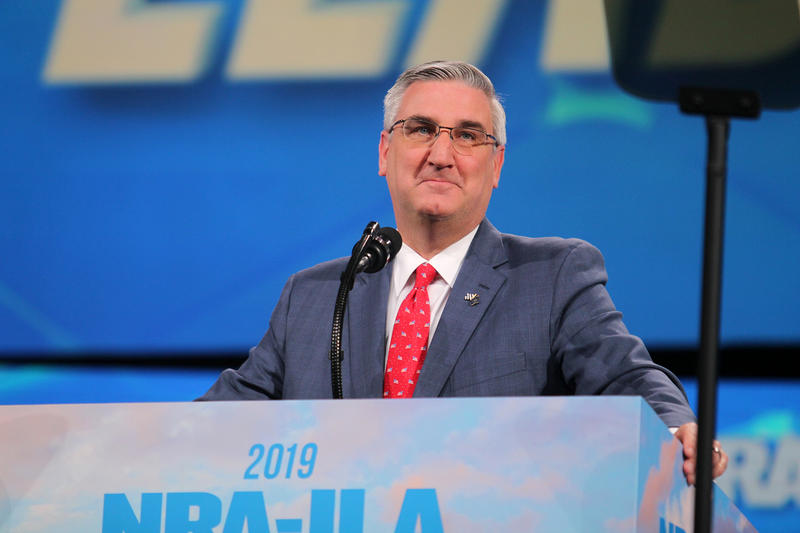 Governor Holcomb at NRA