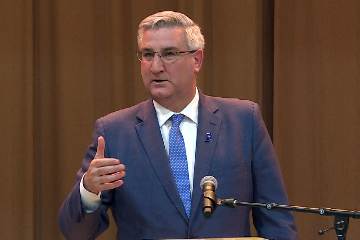 Indiana Gov. Eric Holcomb.