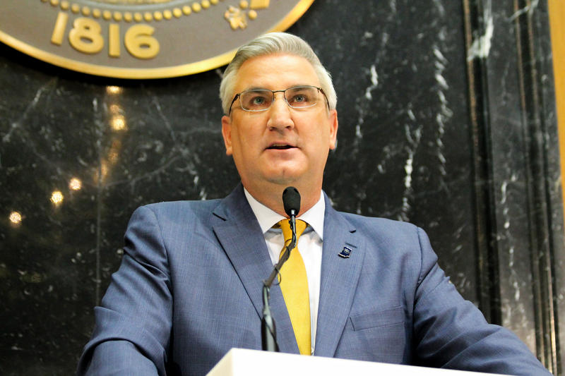Governor Eric Holcomb.