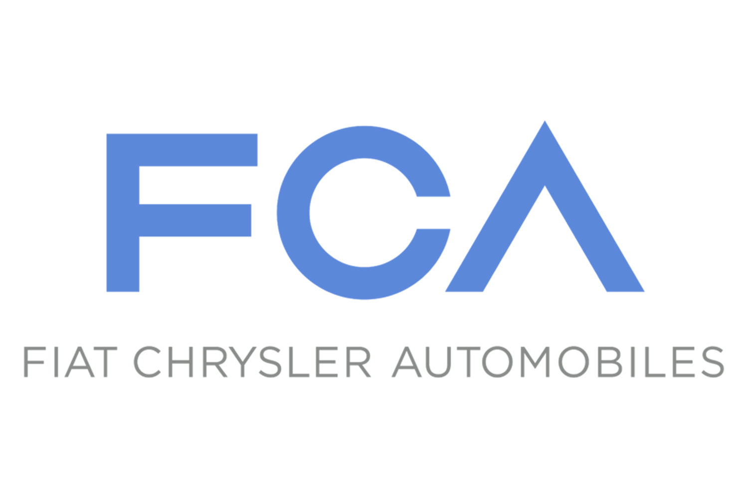 The Fiat-Chrysler Automobiles logo.