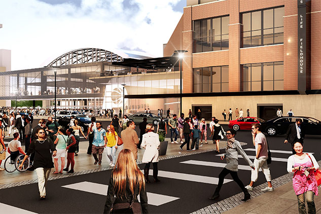 Pacers stadium rendering