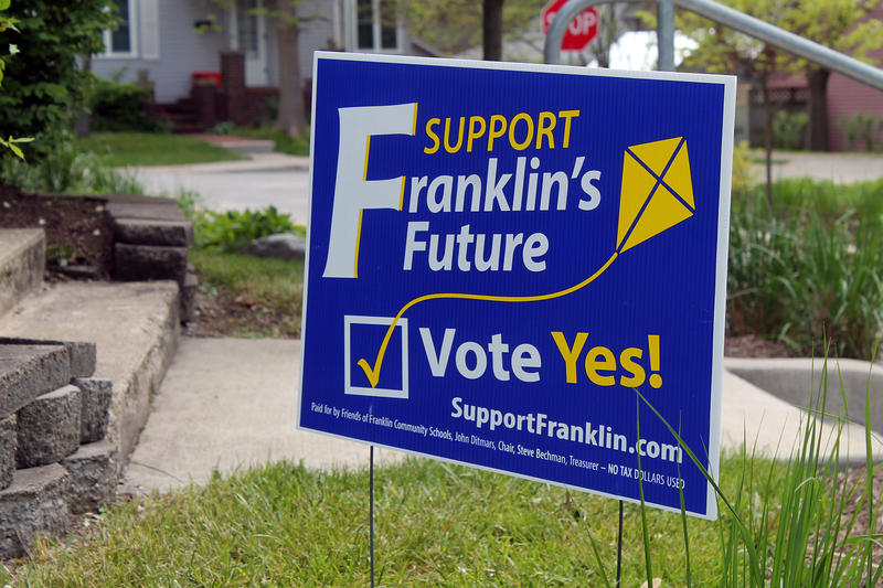 franklin referendum sign