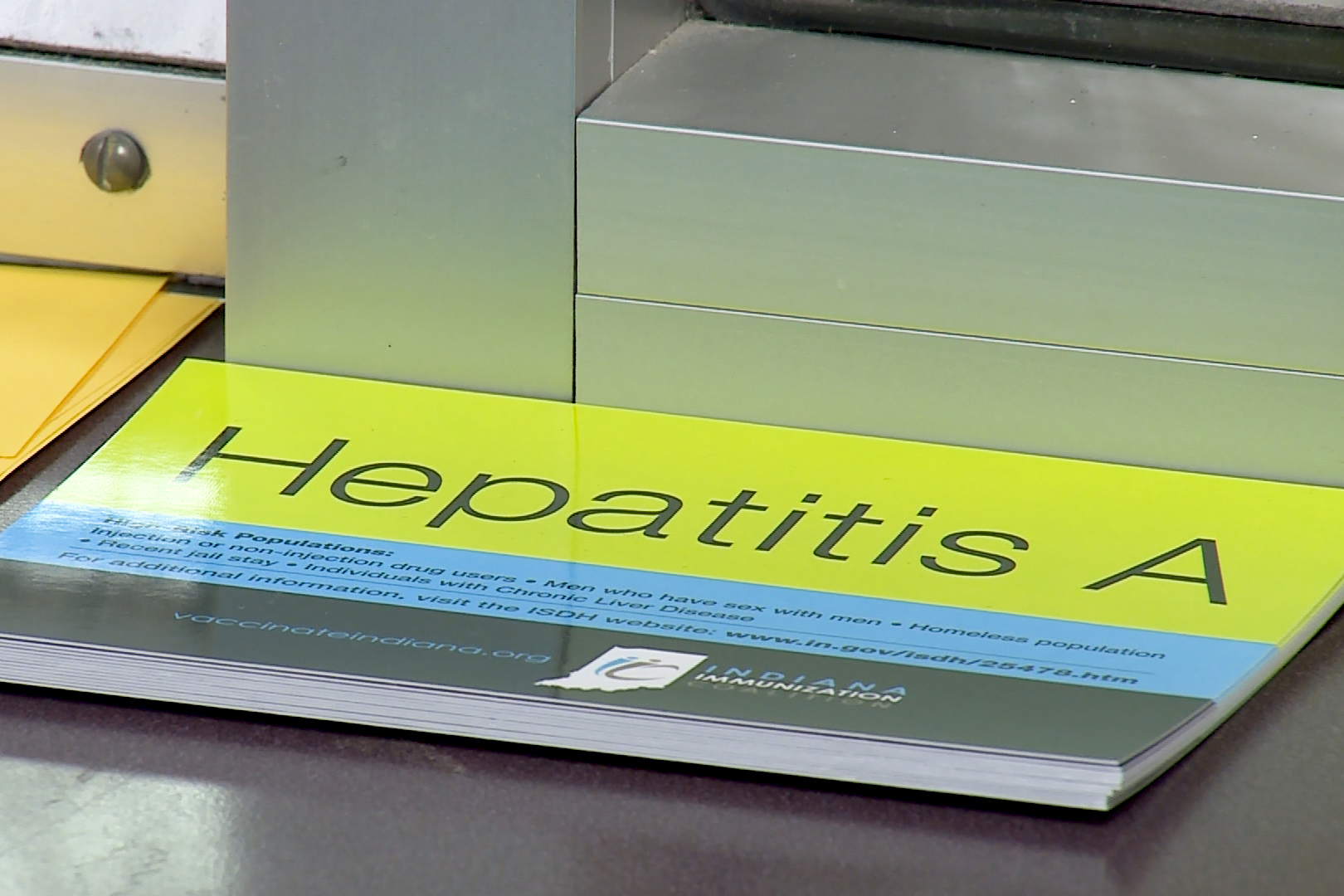 Booklet on Hepatitis A