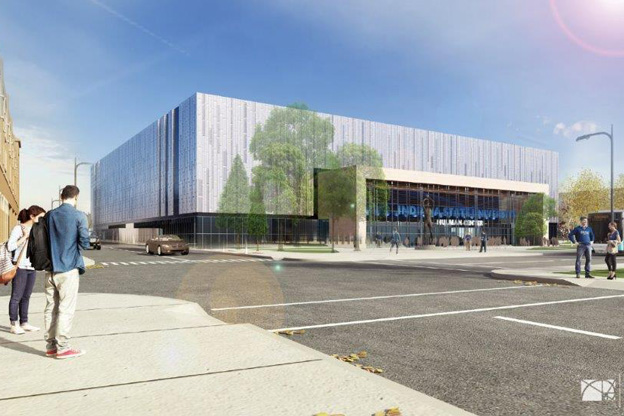 Hulman Center rendering