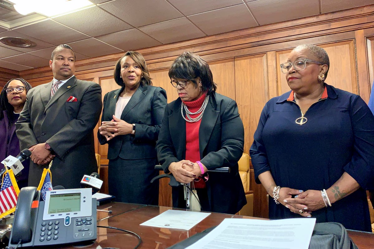 The Indiana Black Legislative Caucus discusses its 2020 agenda.