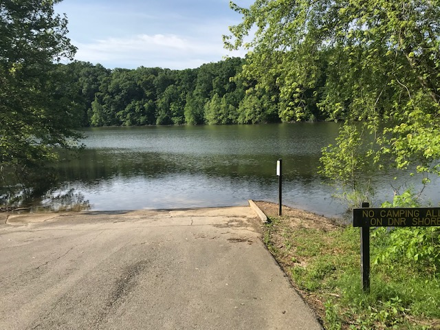 Allen's Creek in Lake Monroe