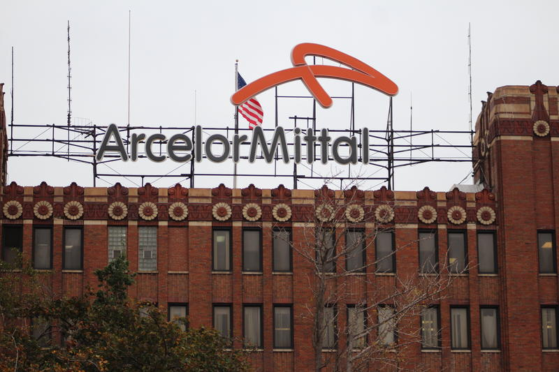 The ArcelorMittal headquarters.