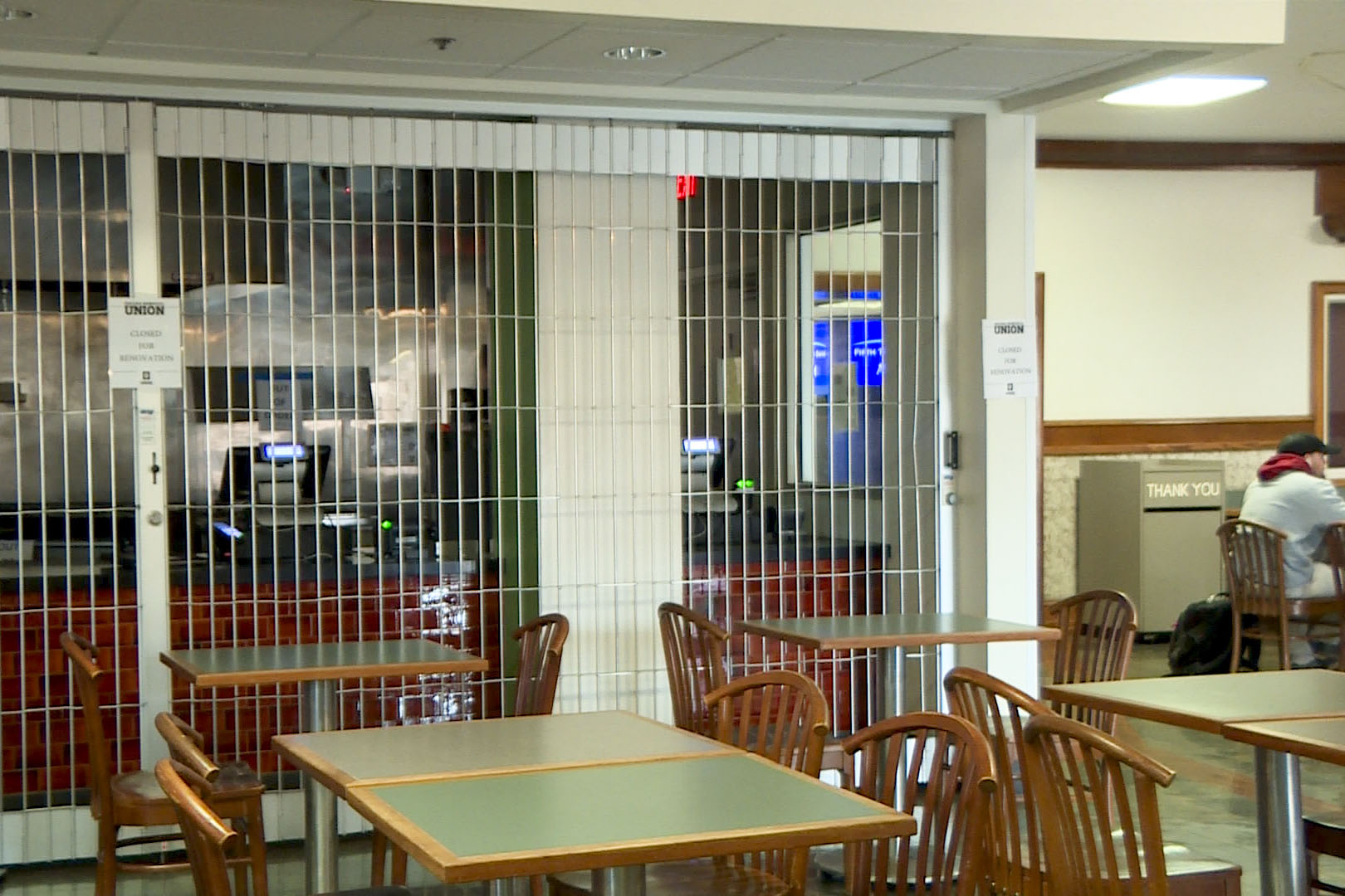 Closed Restaurant in the IMU