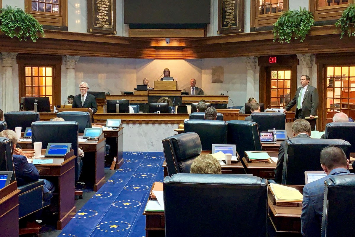 The Indiana Senate.