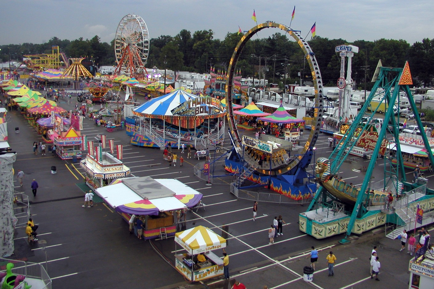 Indiana State Fair Amusement Ride Safety Checks Performed