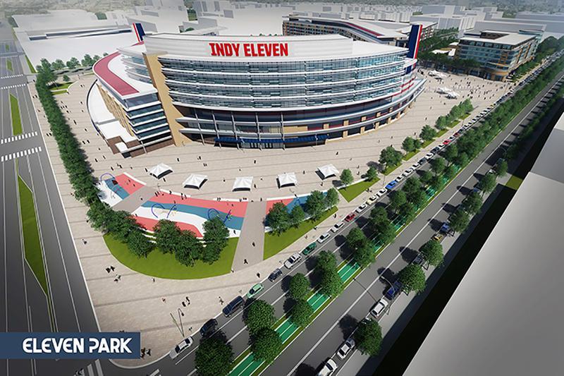 Indy Eleven rendering